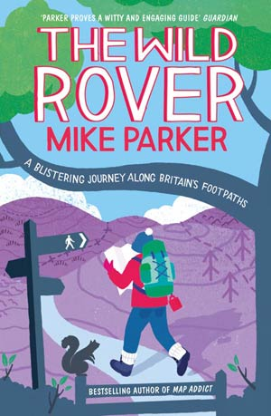 Book cover: Wild Rover by Mike Parker